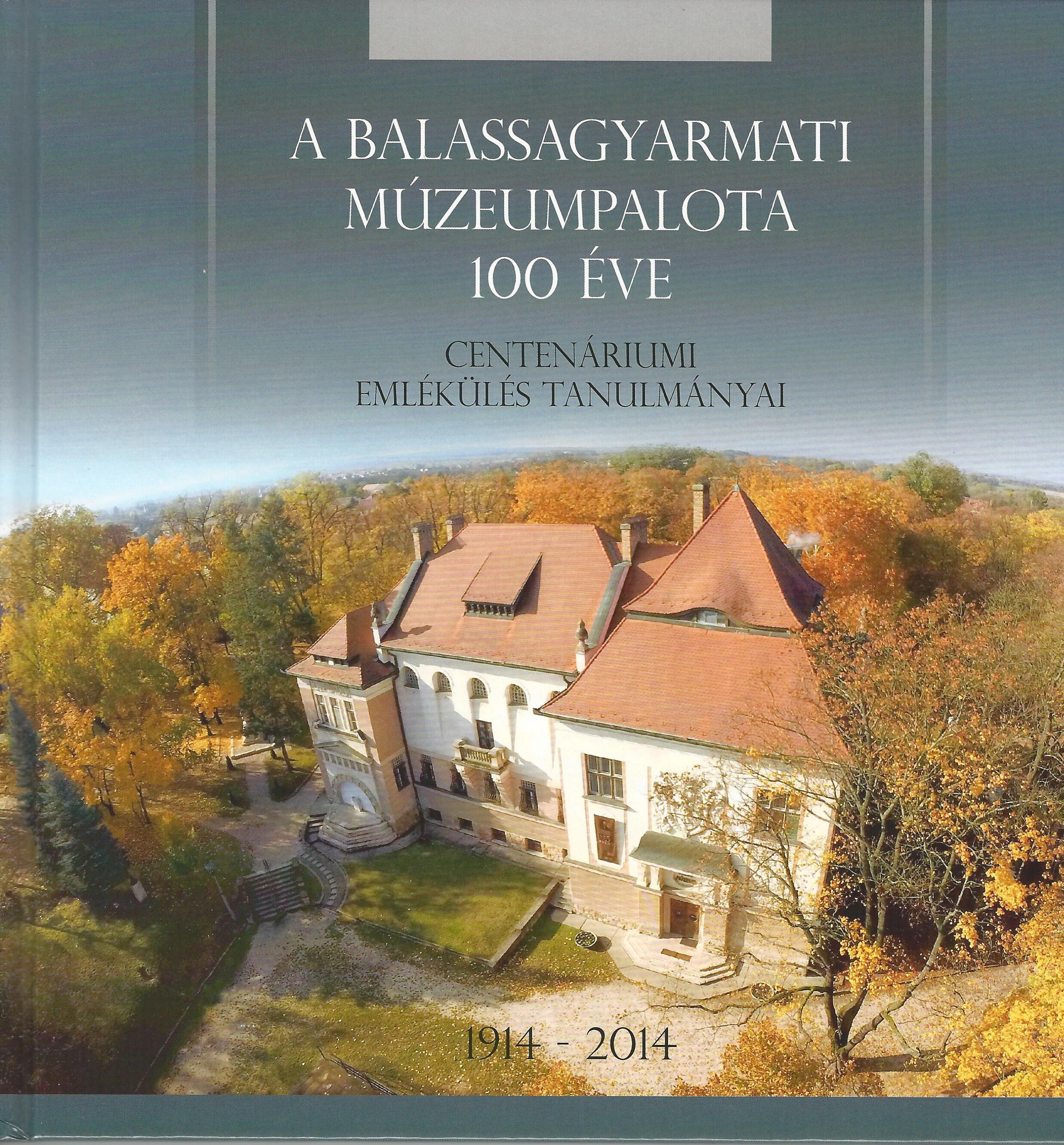 100 éves múzeumpalota kiadvány borító