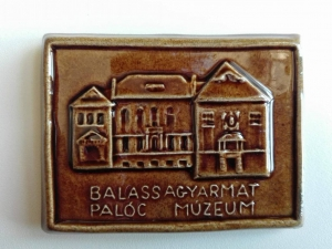 <b>Hűtőmágnes: Balassagyarmat, Palóc Múzeum_2</b>