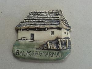 <b>Hűtőmágnes: Balassagyarmat, Palóc Ház</b>