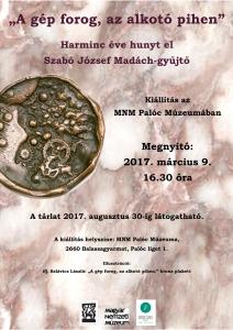 Madách kiállítás 2017. plakát