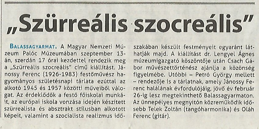 NMH_Szürreális szocreális