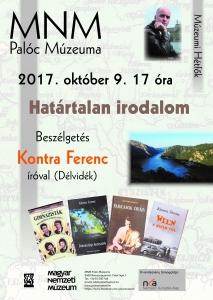 Kontra Ferenc plakát 2017.10.09.