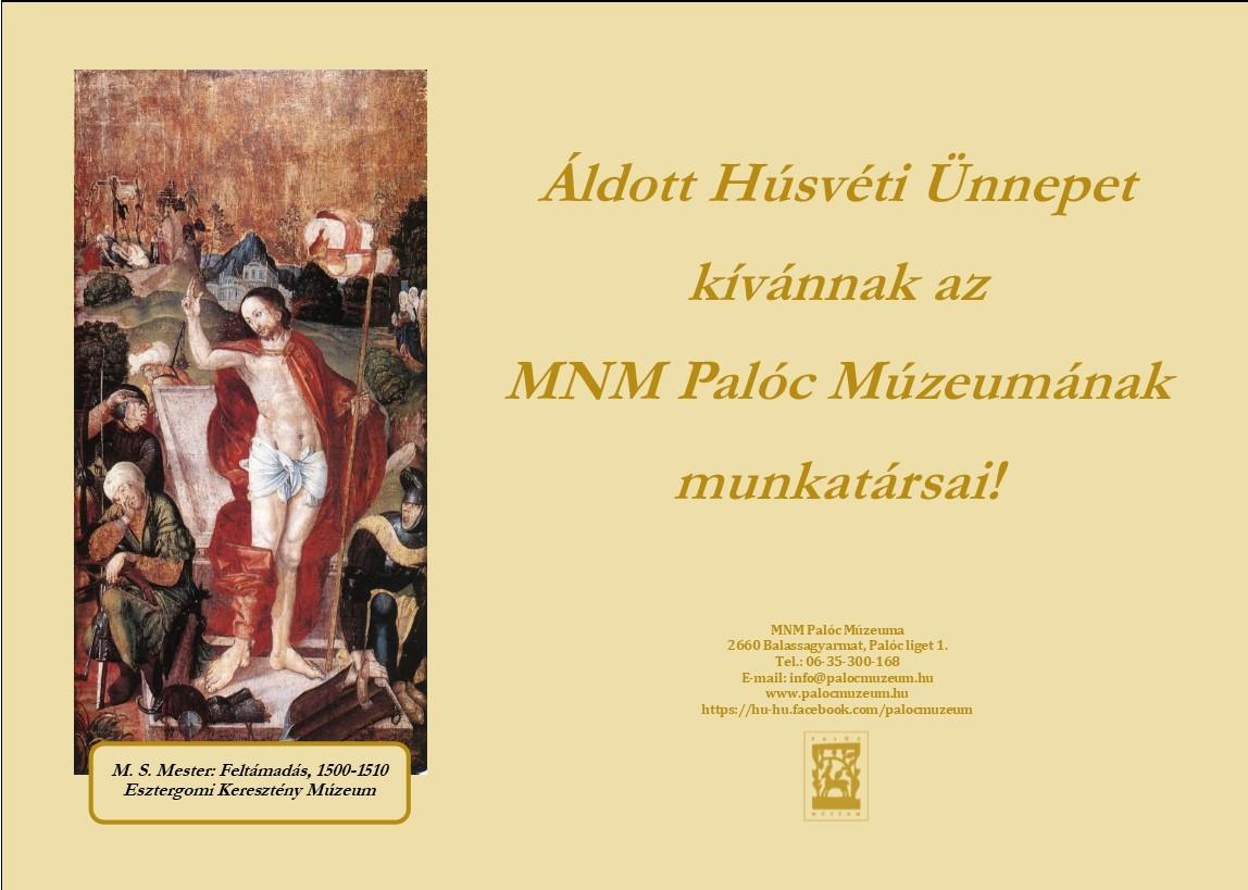 húsvéti képeslap 2018
