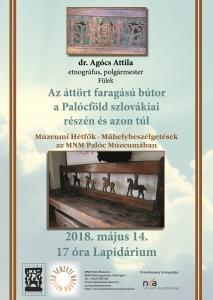 Múzeumi hétfők plakát május