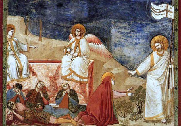Giotto_Krisztus feltámadása