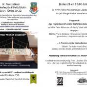 IX. Nemzetközi Csipkefesztivál Palócföldön az MNM Palóc Múzeumában június 21-én 10 órától